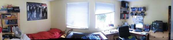 Panorama vom Zimmer