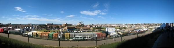 Stadion Port Elizabeth - Draußen