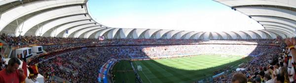 Stadion Port Elizabeth - Drinnen